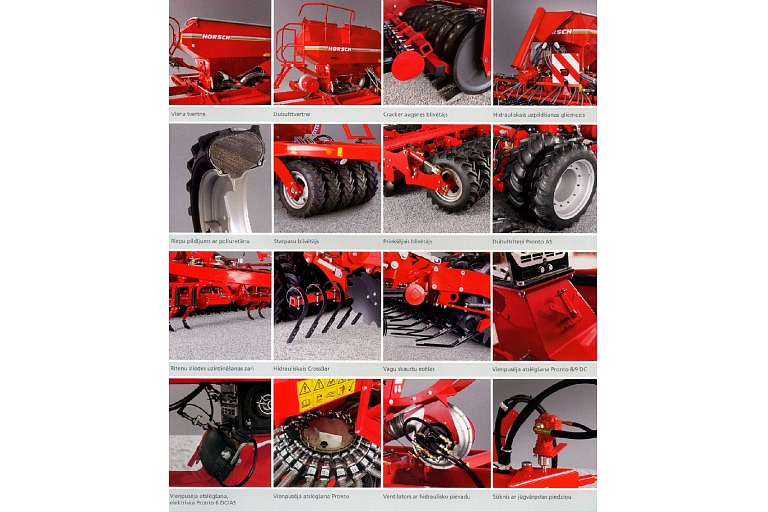 Horsch Pronto additional equipment