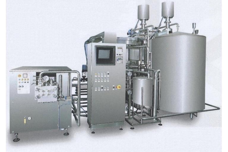 Saldējuma ražošanas iekārtas