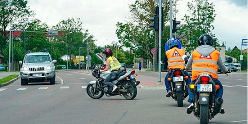 Motociklu apmācība