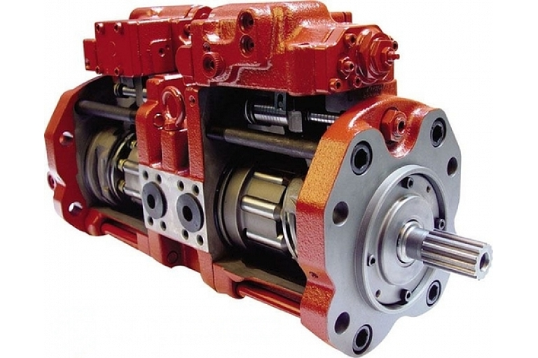 Hydraulic pumps, motors and their spare parts