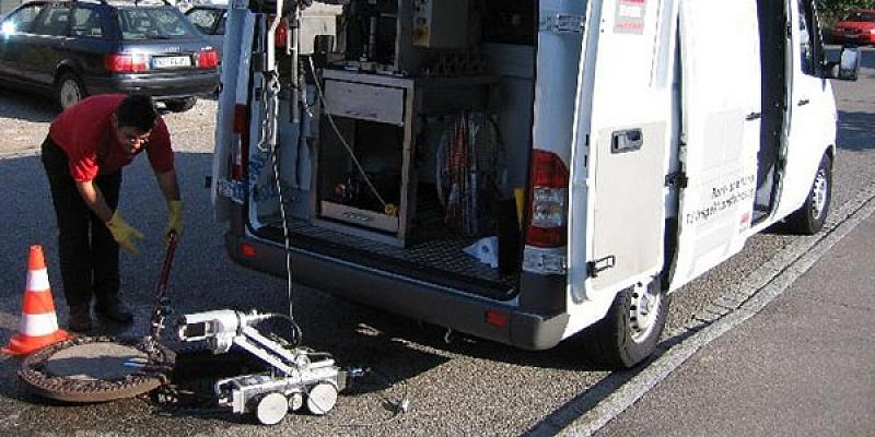 Cauruļvadu CCTV inspekcija