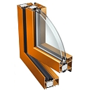 Aluminum windows, aluminum profiles, wholesale Ponzio PE 78HI