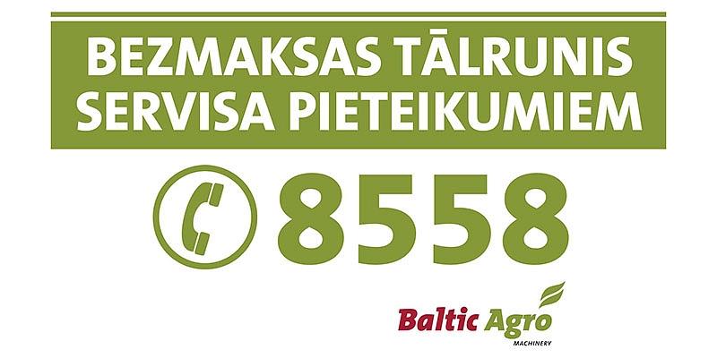 Baltic Agro Machinery tehnikas serviss