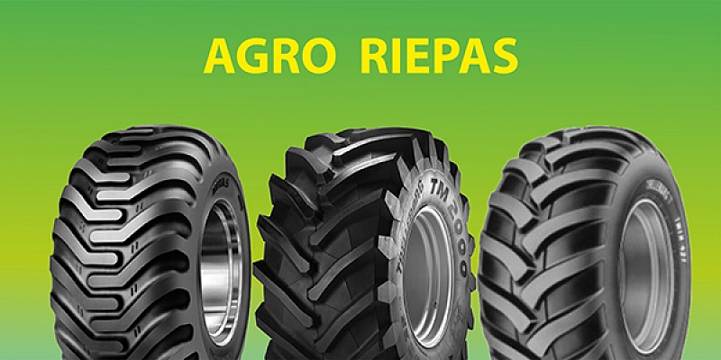 Agro - tires for all types of agricultural machinery and implements