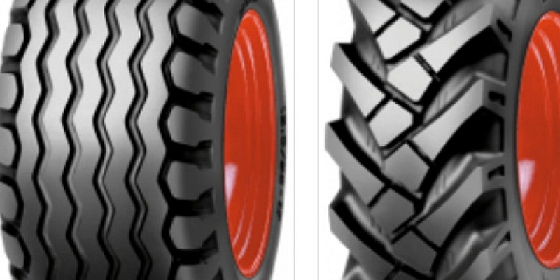 Tires for agricultural vehicles