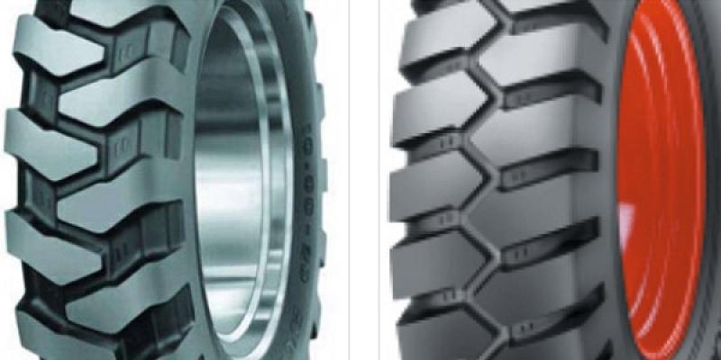 Industrial transport tires