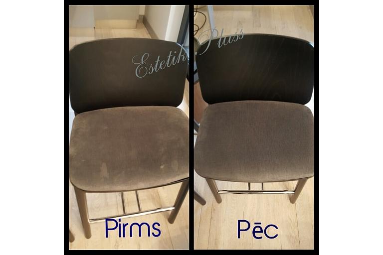 Krēslu ķīmiskā tīrīšana, uzkopšanas serviss