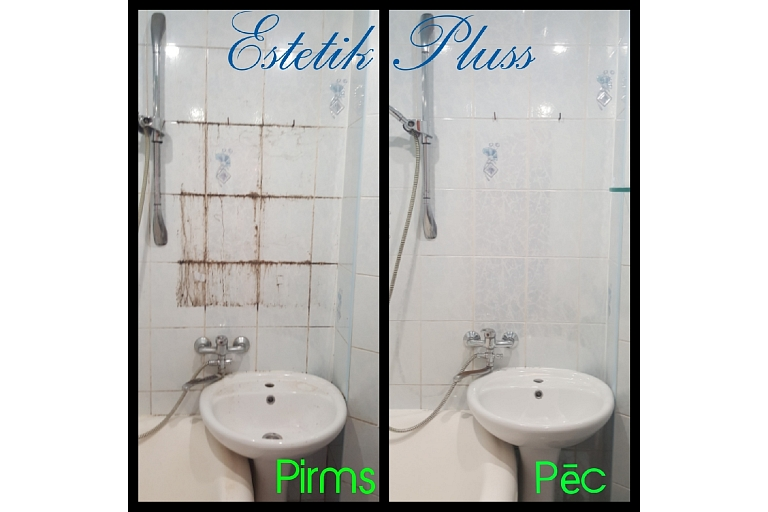 General cleaning of sanitary facilities, cleaning of bathrooms