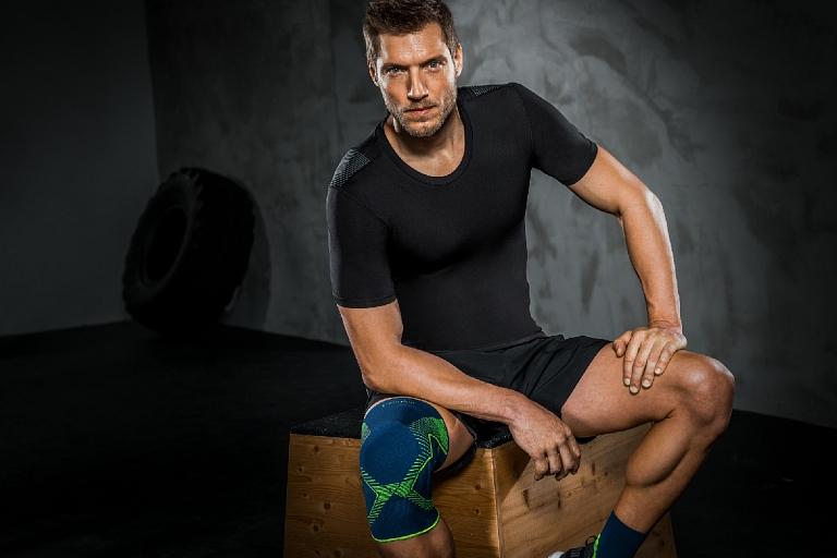 Izturīgas un īpaši pieguļošas ortozes sportam