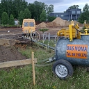 Construction equipment rental, Delivery
