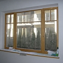 Wooden windows. Window beam, plank production and trade