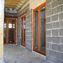 Wooden door and window production