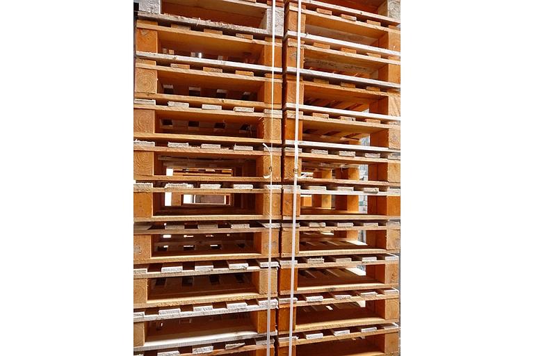 Pallet collars, PalWood Ltd., Latvia