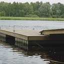 Reinforced concrete pontoon