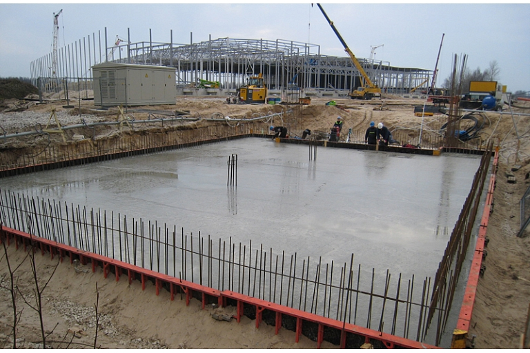 Concreting works