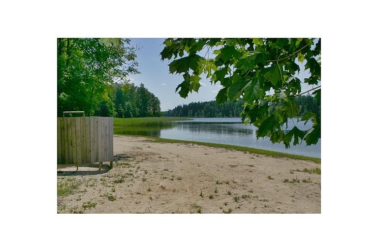 Рыбалка на озере Цецере