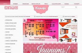 www.kameja.lv
