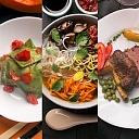 LUCRUM  ēdienu piegāde, ēdieni līdzņemšanai, ēdienu piegāde mājās, darba vietā