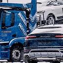 Ekskluzīvu automašīnu transportēšana