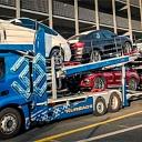 Automašīnu transportēšana ar atvērto autovedēju