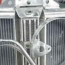 Car radiator repair