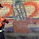 Graffiti cleaning and protection