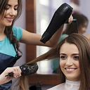 Vīriešu un sieviešu matu griezums, krāsošana un veidošana