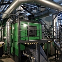 Pilns katlu māju aprīkojums zaļā siltumenerģija