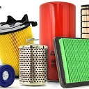 Filters, starters, generators and their spare parts