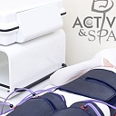 Pressotherapy, lymphatic drainage massage