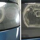 Autostiklu un lukturu pulēšana