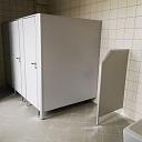WC kabīnes un starpsienas