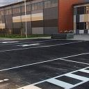 Autostāvvietu aprīkojums un labiekārtojuma elementu uzstādīšana
