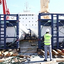 Large-size, project freight transport