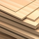 Non - laminated plywood