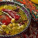 Austrumu virtuve restorāns Azerbaidžāna