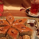 Galdu klāšana, banketi, bēru mielasti restorāns Azerbaidžāna
