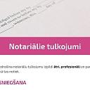 Notariālie tulkojumi