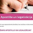 Apostille un legalizācija