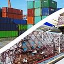 Jūras / Avio / Dzelzceļa kravu pārvadājumi