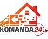 """""""Komanda24"""", SIA. Latvijā lielākais pārvākšanās serviss"""