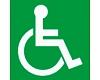 Invalīdu pavadonis - asistents ar specializētu transportu